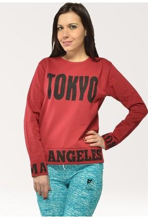 Modamla Tokyo Baskı Sweat