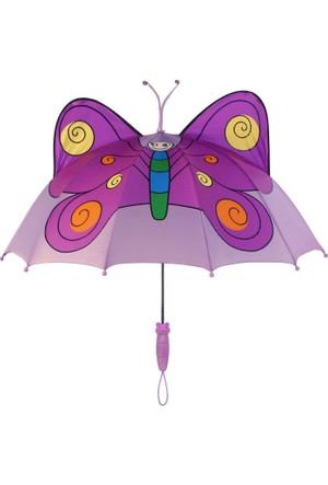 Kidorable Çocuk Şemsiyesi - Kelebek