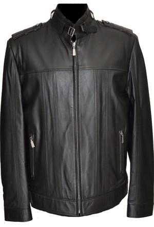 Catsuit Erkek Deri Ceket Siyah - 352042
