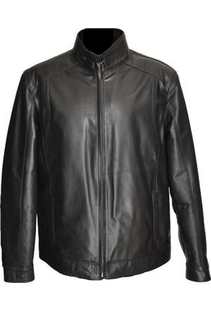 Catsuit Erkek Deri Ceket Siyah - 355062