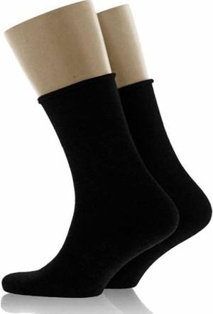 Man Erkek Siyah Çorap ( 30 - 35 )