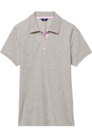 Gant Kadın Polo T-Shirt Gri 4012501
