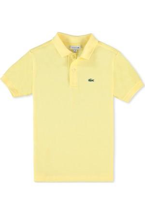 Lacoste Erkek Çocuk Polo T-Shirt Açık Sarı L18121