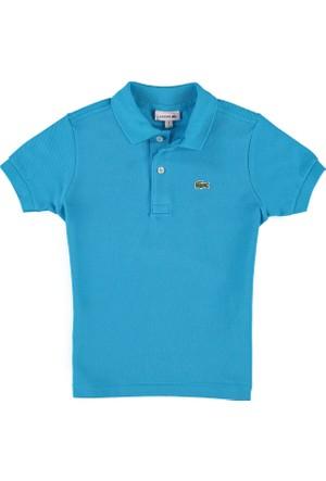 Lacoste Erkek Çocuk Polo T-Shirt Turkuaz L18121