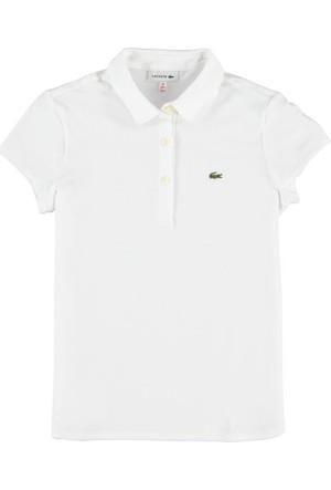 Lacoste Erkek Çocuk Polo T-Shirt Beyaz PJ80411