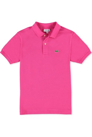 Lacoste Erkek Çocuk Polo T-Shirt Pembe L18121