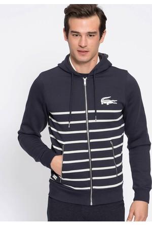 Lacoste Erkek Sweatshirt Lacivert SH30311