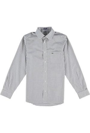 Lacoste Erkek Çocuk Gömlek Gri CJ59051
