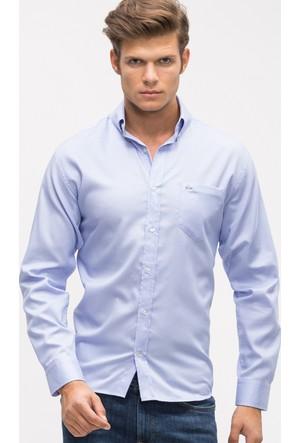 Lacoste Erkek Gömlek Açık Mavi CH90811