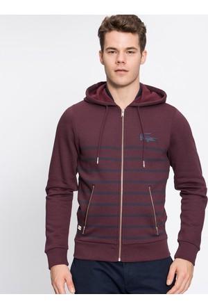 Lacoste Erkek Sweatshirt Bordo SH30311