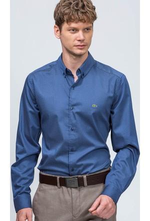 Lacoste Erkek Gömlek Lacivert CH06021