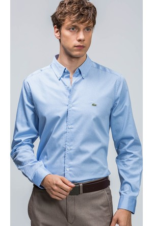 Lacoste Erkek Gömlek Mavi CH06021