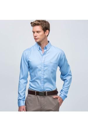 Lacoste Erkek Gömlek Mavi CH90811