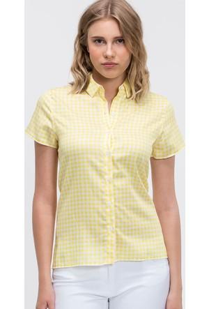 Lacoste Kadın Gömlek Sarı CF66271
