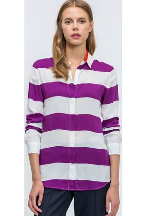 Lacoste Kadın Gömlek Mor CF56671