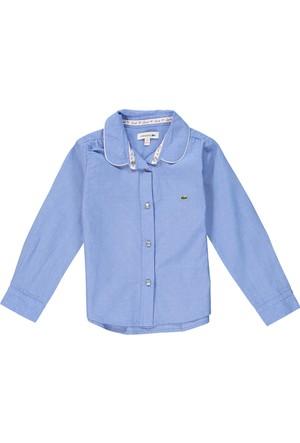 Lacoste Erkek Çocuk Gömlek Mavi CJ2968