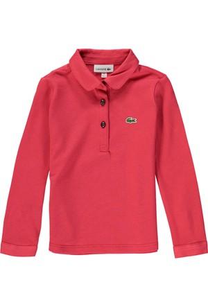 Lacoste Erkek Çocuk Polo T-Shirt Pembe PJ2972