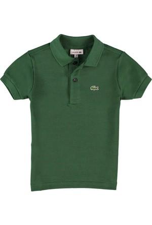 Lacoste Erkek Çocuk Standard Fit Polo T-Shirt Yeşil L1812
