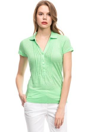 Nautica Kadın Polo T-Shirt Yeşil 549K420