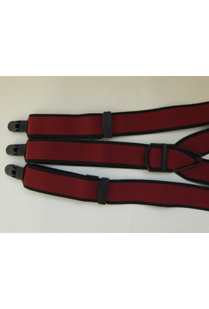 Kemer Sepeti Bordo Pantolon Askısı