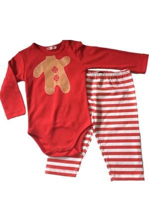 Zeyland Kız Çocuk Kırmızı Pijama Takımı - 71K1106