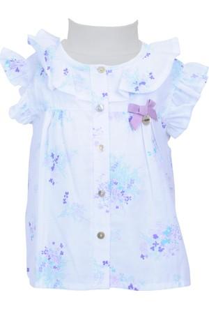 Zeyland Kız Çocuk Beyaz Gömlek - 71M2LJG82