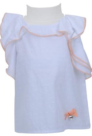 Zeyland Kız Çocuk Beyaz Gömlek - 71M2LKF81