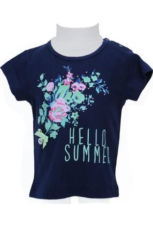 Zeyland Kız Çocuk Lacivert T-shirt - 71M2YSR51