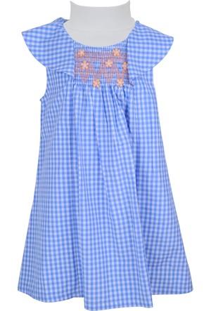 Zeyland Kız Çocuk Mavi Elbise - 71M4DKF31