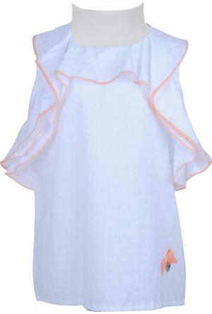 Zeyland Kız Çocuk Beyaz Gömlek - 71M4DKF81