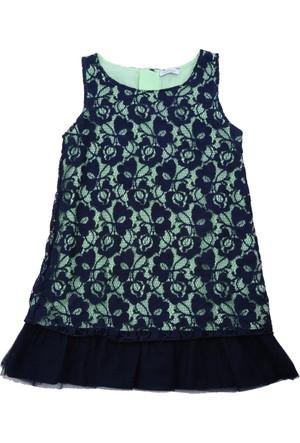 Zeyland Kız Çocuk Lacivert Elbise - 71M4DSR32