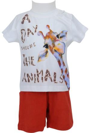 Zeyland Erkek Çocuk Skasar T-shirt + Şort Takım - 71Z1SFA76