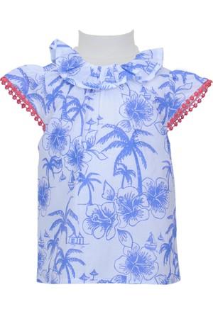 Zeyland Kız Çocuk Beyaz Gömlek - 71Z2MPC81