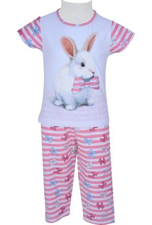 Zeyland Kız Çocuk Pembe Pijama Takımı - 71Z2PJM203