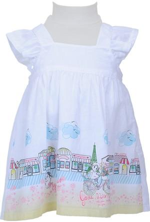 Zeyland Kız Çocuk Beyaz Elbise - 71Z2SRM31