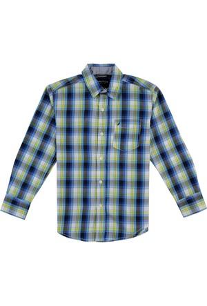 Nautica Erkek Çocuk Gömlek Lacivert N874322Q