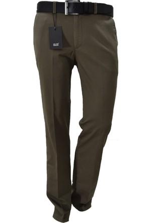 Mr.Gün Erkek Pantolon Pamuklu Bej Regular Fit 83111