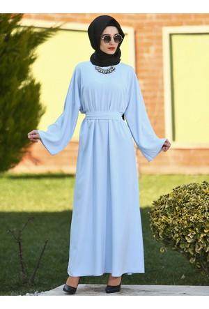 Ferace Elbise - Mavi - Gabra