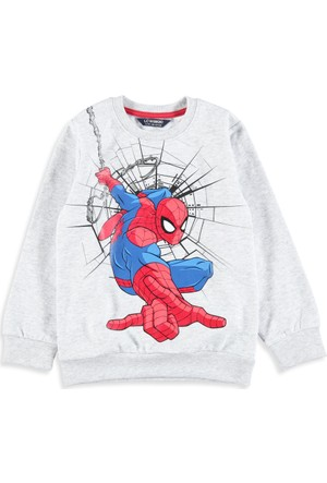 LC Waikiki Erkek Çocuk Spider Man Sweatshirt