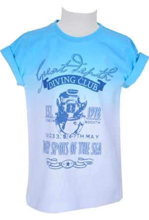 Zeyland Erkek Çocuk Beyaz T-shirt - 71Z3OBZ53