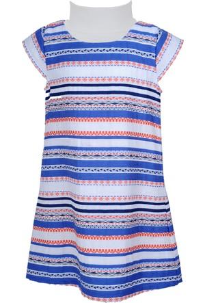 Zeyland Kız Çocuk Desenli Elbise - 71Z4OSF32