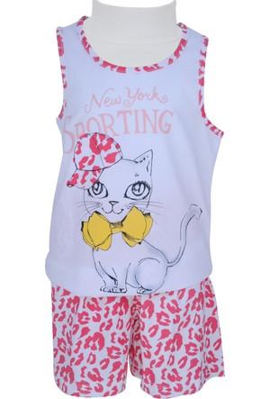 Zeyland Kız Çocuk Beyaz Pijama Takımı - 71Z4PJM204