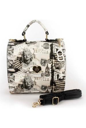 Voo Artwork Baskılı Kutu Çanta