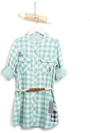 U.S. Polo Assn. Kız Çocuk Saundgirl Elbise Mint