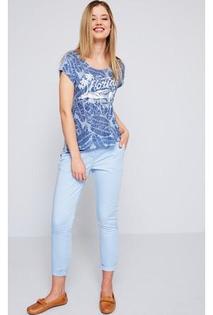 U.S. Polo Assn. Kadın Wilma7Y-İng Pantolon Açık Mavi