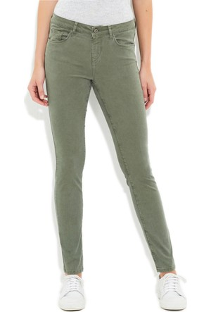 Mavi Kadın Adriana Haki Yeşili Pantolon