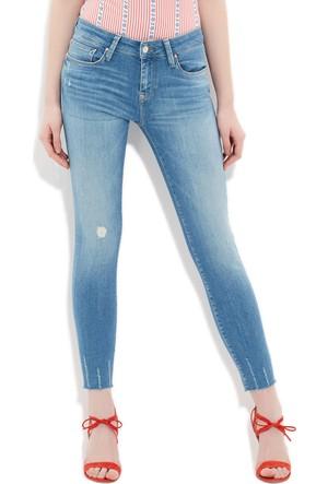 Mavi Kadın Adriana Ankle Glam Mavi Jean Pantolon