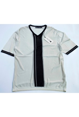 Soft Style Erkek V Yaka Tshirt 1204