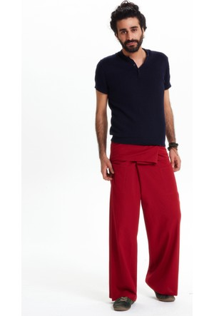 Los Banditos Erkek Kırmızı Balıkçı Pantolon P080