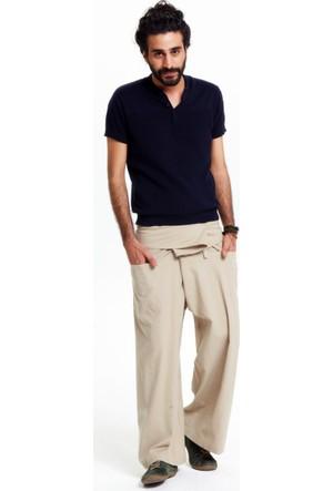 Los Banditos Erkek Krem Rengi Balıkçı Pantolon P080